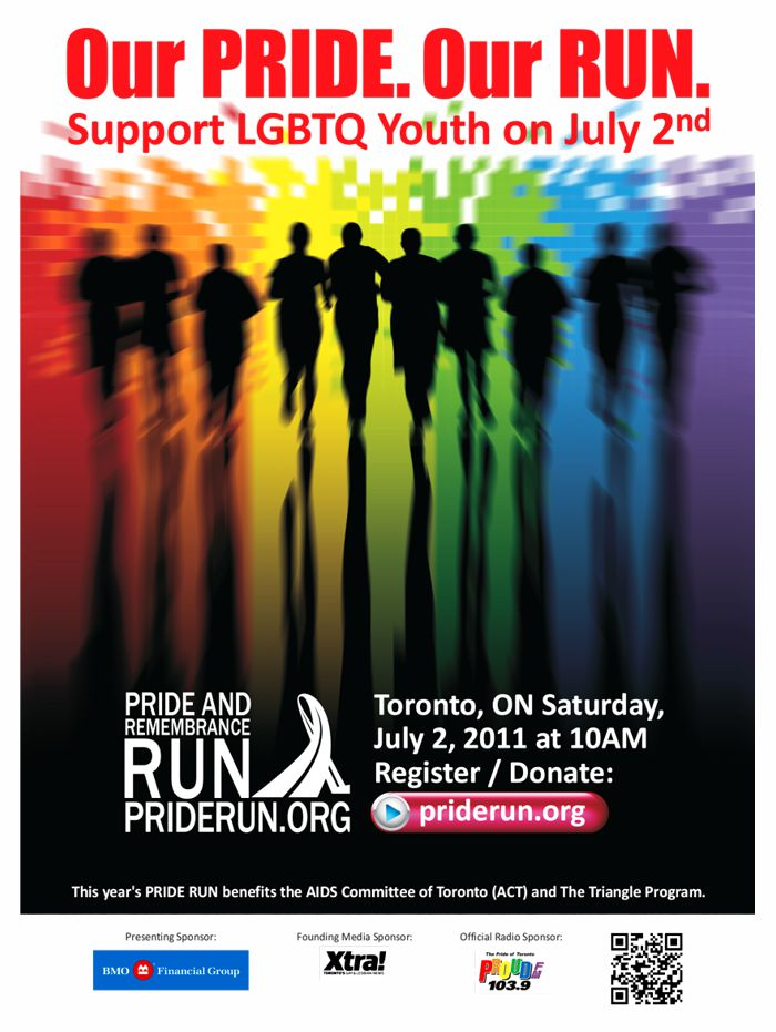 TTC Poster Design for Pride Run 2011-2012