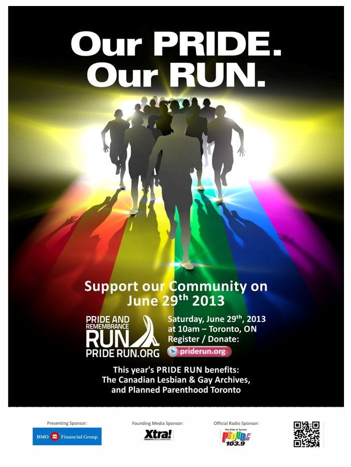 TTC Poster Design for Pride Run 2013