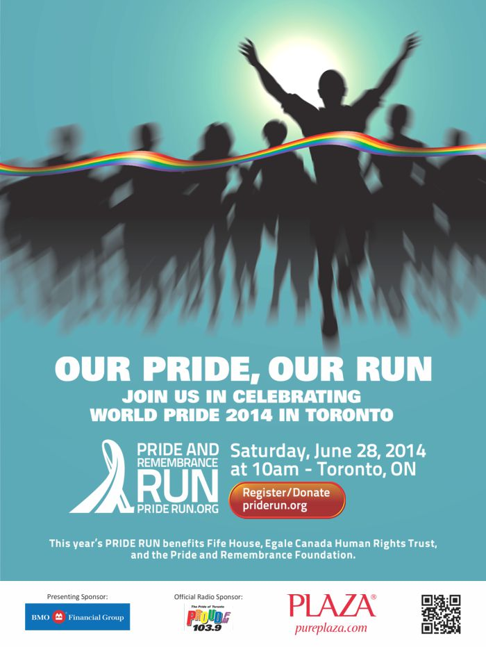 TTC Poster Design for Pride Run 2014